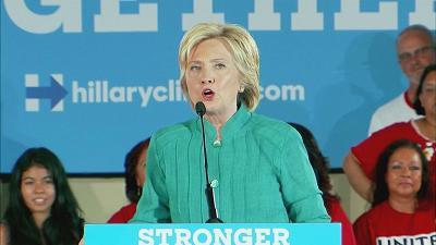 Hillary Clinton: 'Criticizing me' is the only thing unifying Republicans