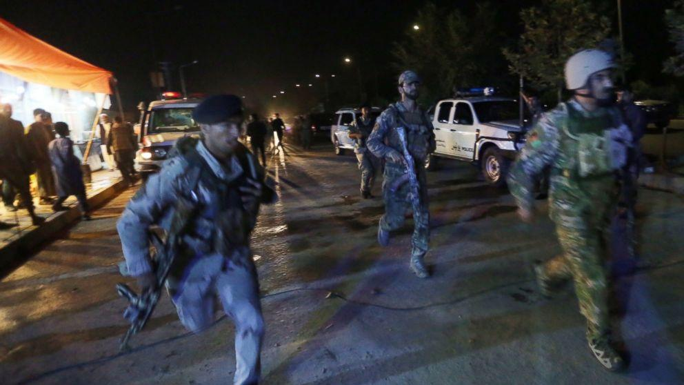 American University Under Attack in Kabul, Afghanistan