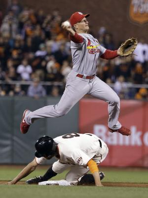 Peralta powers Cardinals past Giants 7-2