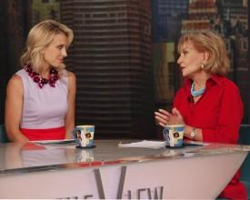 Elisabeth Hasselbeck Plugs Fox News Channel's 'Fox & Friends' on 'The View'
