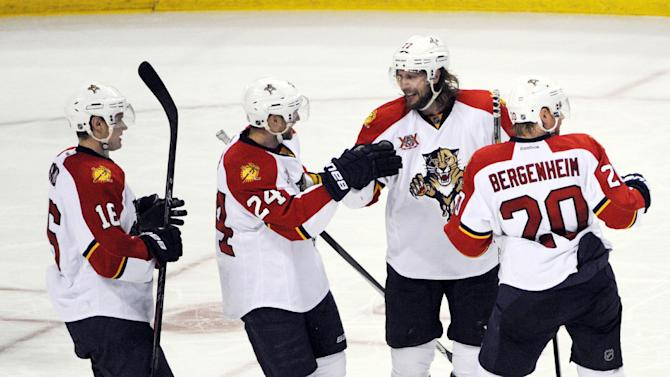 Boyes scores 2, Panthers beat Sabres 2-1 in SO