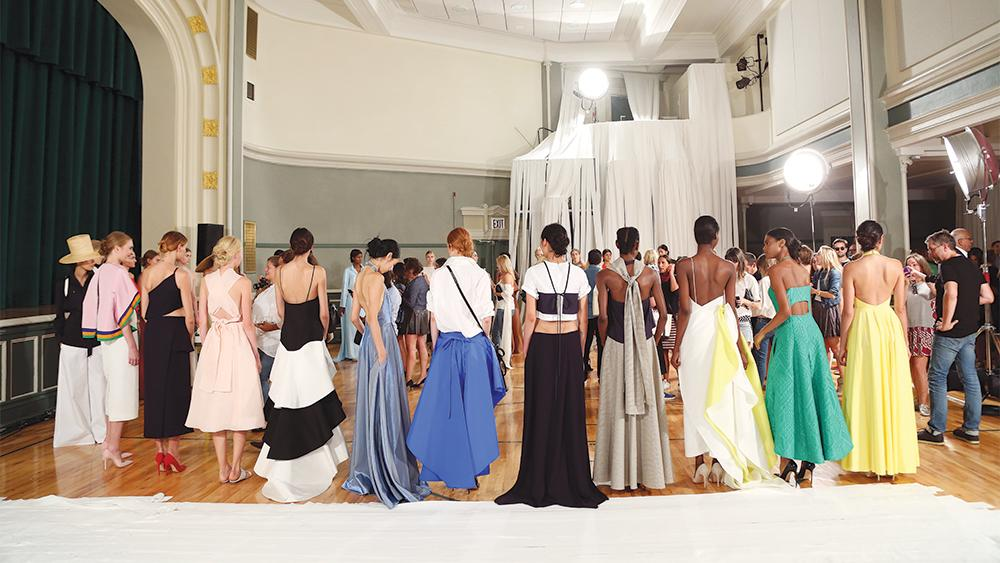 On the Red Carpet, Emerging Designers Get Shot at Fame