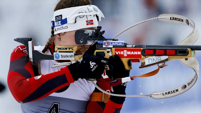 FIS World Cup - Biathlon - Women's Pursuit