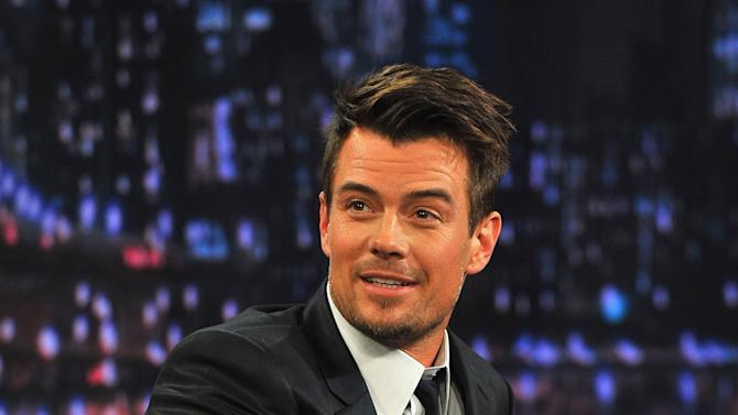 "Josh Duhamel Visits ""Late Night With Jimmy Fallon"""