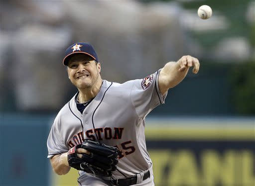 Last-place Astros complete 4-game sweep of Angels