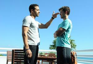 Daniel Sunjata, Aaron Tveit | Photo Credits: Jeff Daly/USA Network