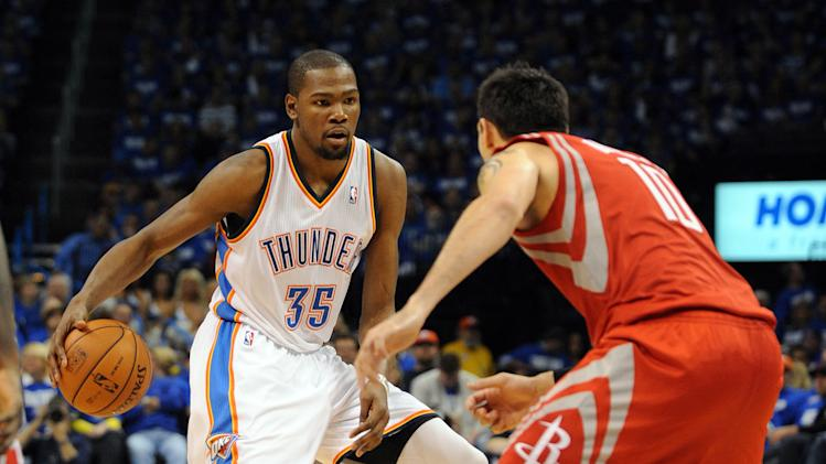 NBA: Playoffs-Houston Rockets at Oklahoma City Thunder