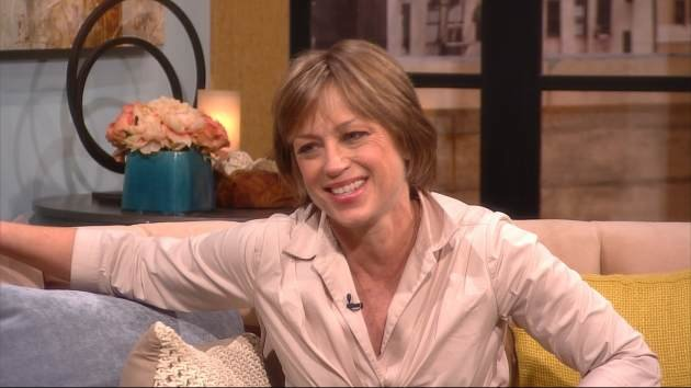 Dorothy Hamill on the set of Access Hollywood Live on March 5, 2013 -- Access Hollywood
