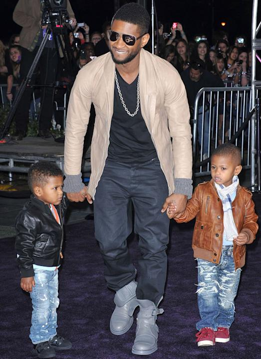 Hottest Celebrity Dads: Usher