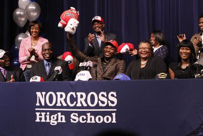 What is college recruiting's National Letter of Intent?