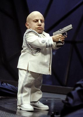 Verne Troyer as Mini-Me in New Line's Austin Powers in Goldmember