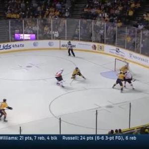Pekka Rinne Save on R.J. Umberger (08:57/2nd)