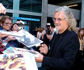 Billy Connolly at the Hollywood premiere of Paramount Pictures' Lemony Snicket's A Series of Unfortunate Events