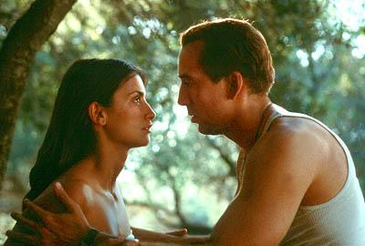 Penelope Cruz and Nicolas Cage in Universal's Captain Corelli's Mandolin