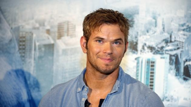 Kellan Lutz attends 'Bait 3D' press conference in Shanghai, China on October 11, 2012 -- Getty Premium