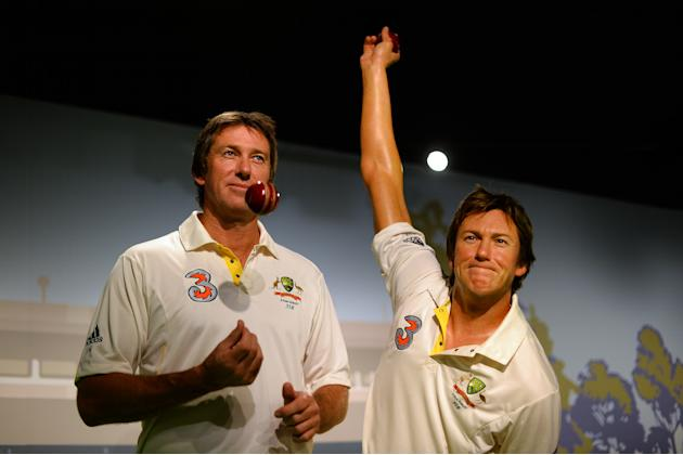 CRICKET-AUS-MCGRATH-WAX
