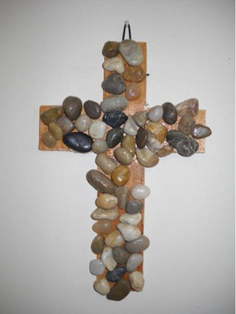 Rock of Faith Cross