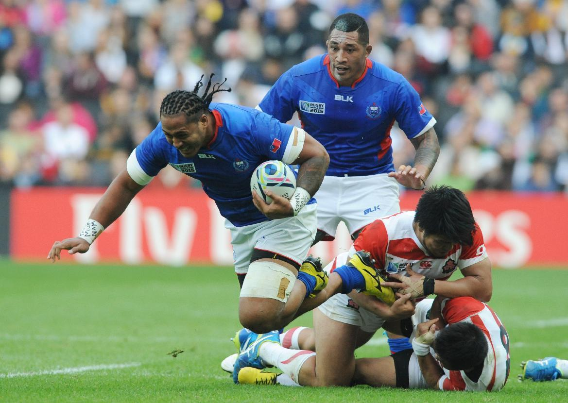 Latest: Samoa wing Tuilagi banned 5 weeks for knee hit