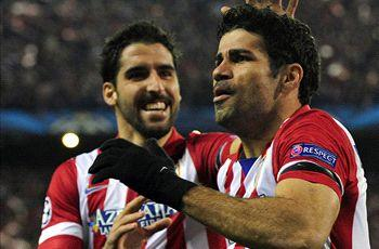 Costa at the double and Bayern Munich march on - Tuesday's Champions League in pics