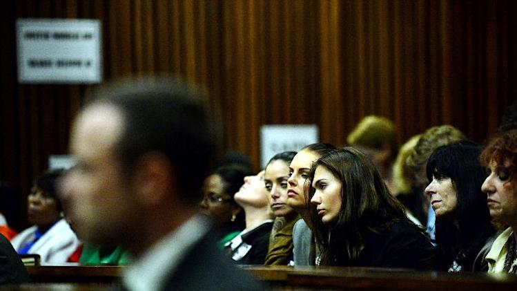 2013 murder of his girlfriend at the high court in Pretoria on March