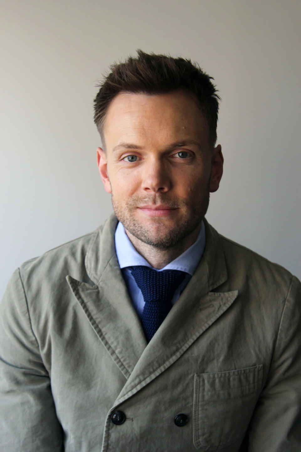 "This July 15, 2013 photo shows actor and TV host Joel McHale in New York. McHale, who host's ""Talk Soup,"" on E! and stars in the NBC comedy ""Community,"" will also star in the upcoming supernatural thriller ""Beware the Night."" (AP Photo/John Carucci)"