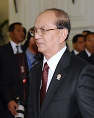 Myanmar's president, Thein Sein (pictured in April), has urged the nation's millions-strong diaspora to return, state media reported on Saturday, as the country seeks skilled workers to help smooth the passage of reform