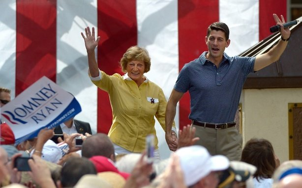 Paul Ryan Brings His Mom Into the Medicare Debate