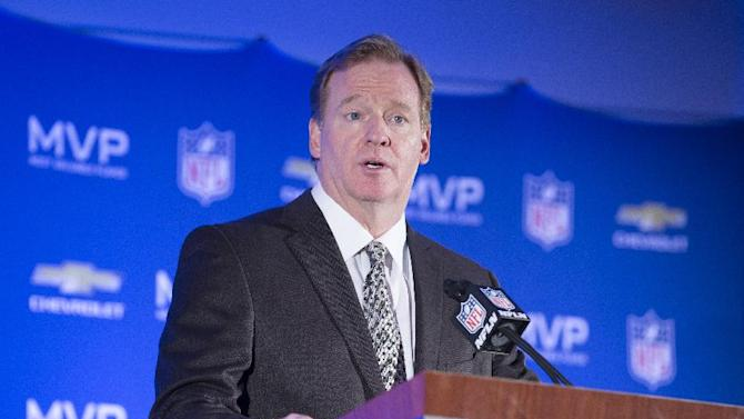 Goodell made $44.2 million in 2012