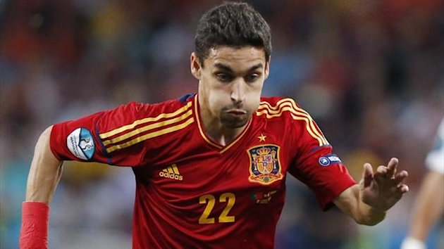 Spain's Jesus Navas (Reuters)