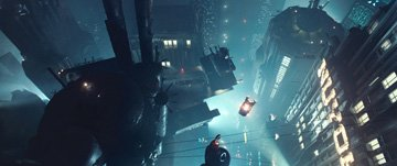 A scene from Warner Brothers' Blade Runner
