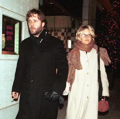 5. Russell Crowe and Meg Ryan