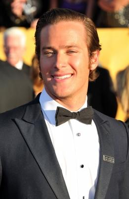 Armie Hammer arrives at the 18th Annual Screen Actors Guild Awards at The Shrine Auditorium in Los Angeles on January 29, 2012 -- Getty Images