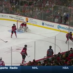 Jon Merrill Hit on Tomas Fleischmann (07:20/2nd)