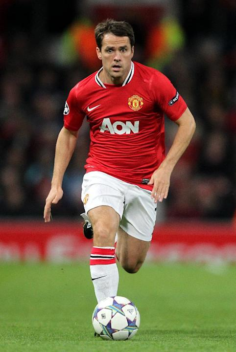 Michael Owen made just six Premier League starts for Manchester United before being released