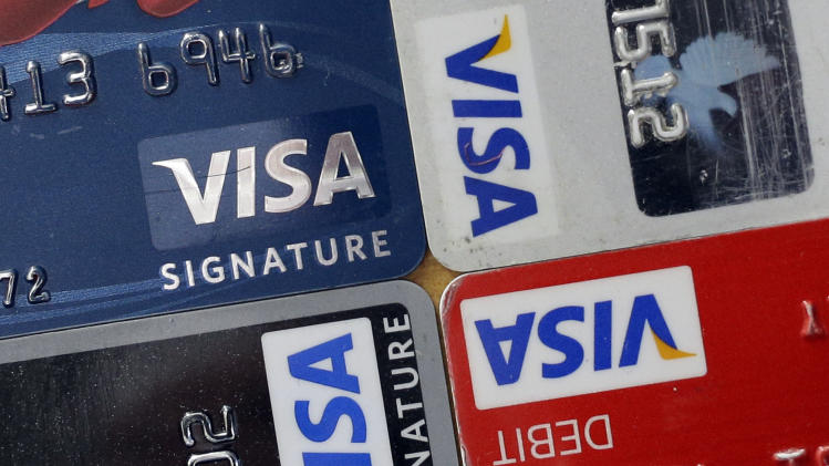 Visa's 2Q profit jumps 26 pct. as payments grow