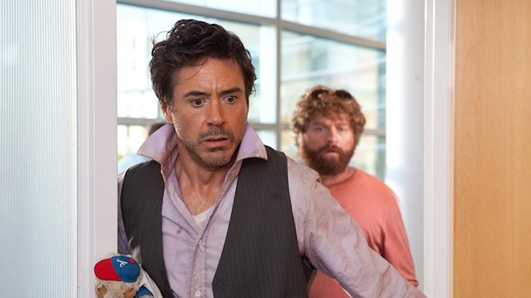 Due Date Warner Bros. Pictures 2010 Zach Galifianakis Robert Downey Jr.