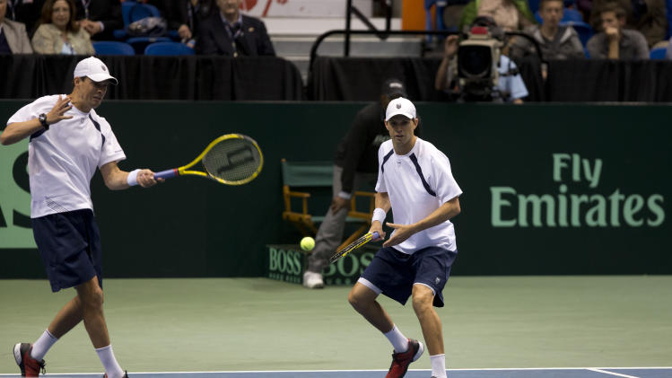 TENNIS: Davis Cup USA vs Serbia