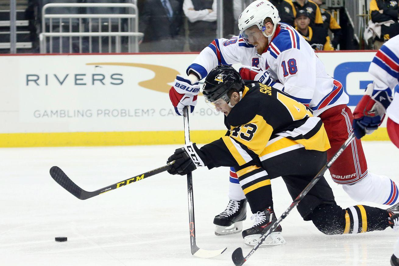 NHL scores 2016: Rangers topple dominant Penguins with secondary scoring, goaltending