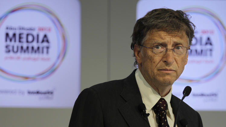 Bill Gates in Abu Dhabi: I'll never run for office