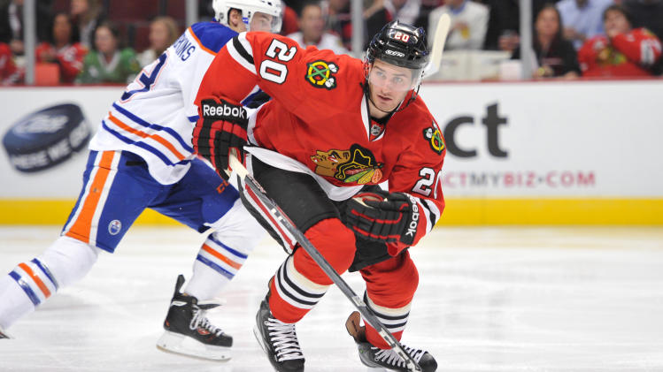 NHL: Edmonton Oilers at Chicago Blackhawks