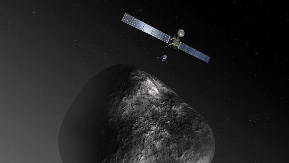 Rosetta Spacecraft Waking Up for Final Leg of Comet Journey