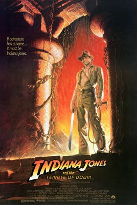 Harrison Ford stars in Paramount Pictures' Indiana Jones and the Temple of Doom