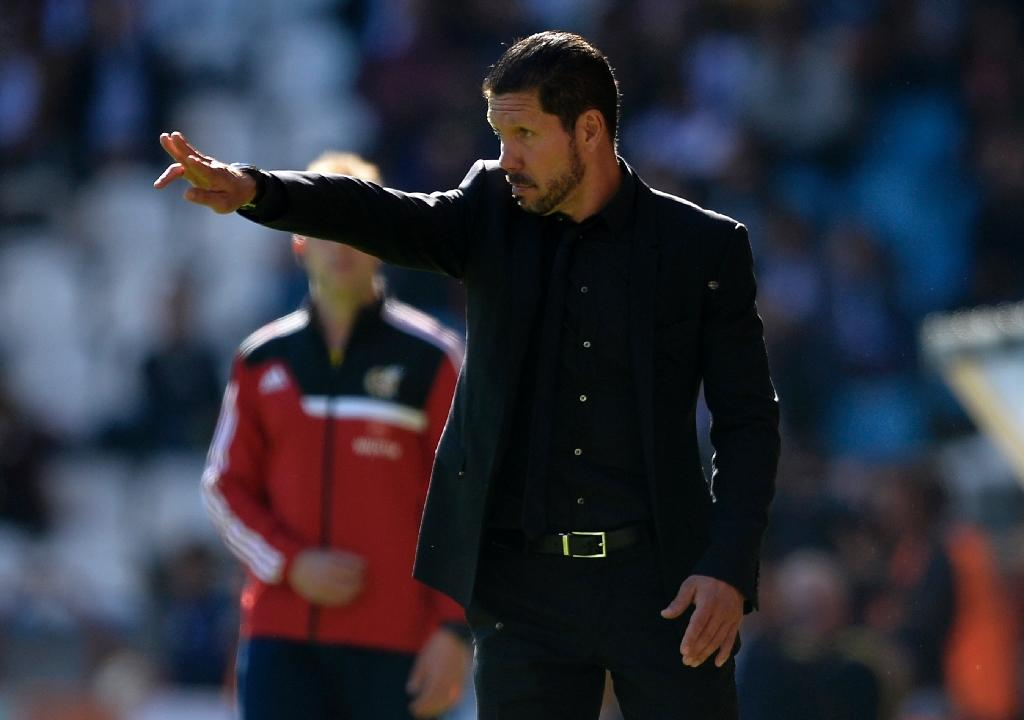 How football coach Simeone painted Madrid red