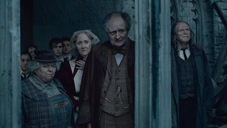 Harry Potter and the Deathly Hallows part 2 Warner Bros Pictures 2011 Miriam Margolyes Gemma Jones Jim Broadbent David Bradley
