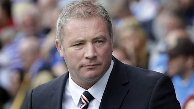 Walter Smith says Ally McCoist, pictured, would be keen to see how far Rangers have progressed