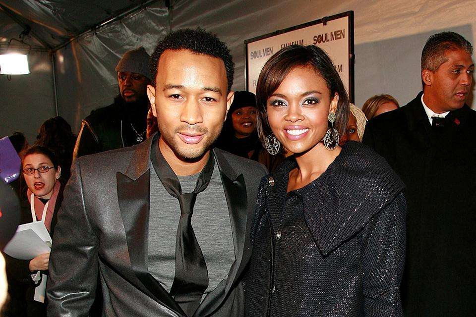 Soul Men NY Premiere 2008 John Legend Sharon Leal