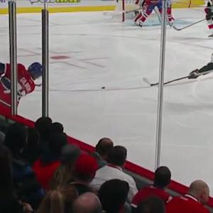 Gilbert fires shot past a screened Anderson