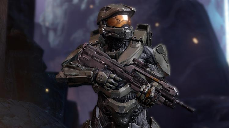 "In this video game image released by Microsoft/343 Industries, a scene if shown from ""Halo 4."" (AP Photo/Microsoft/343 Industries)"