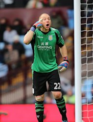 Brad Guzan is determined to help Aston Villa reach another Wembley final