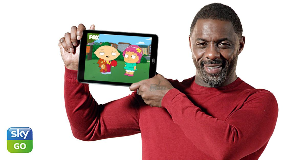 Win a tablet with Idris